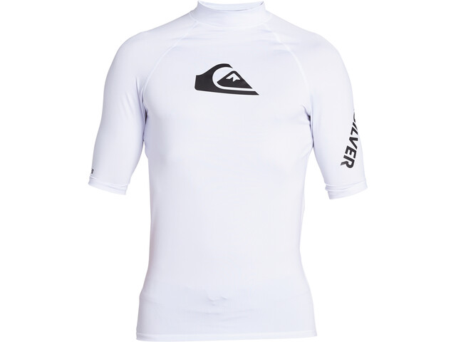 Quiksilver All Time T-shirt Heren, wit